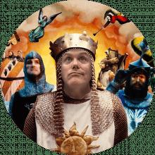 Joe Nicholson Monty Python Collage