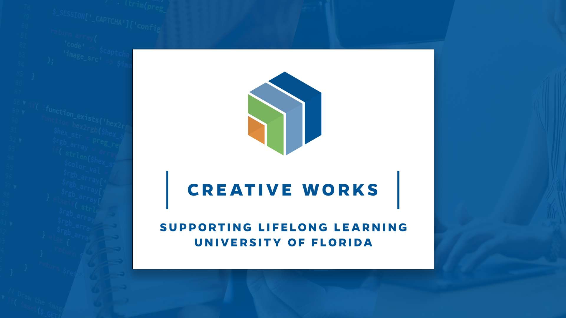 Creative Works promotional logo