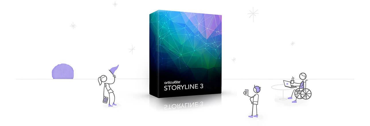 Illustration of Articulate Storyline box